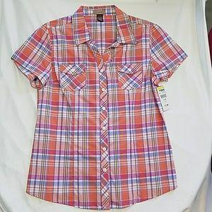 Bit & Bridle button-up western style shirt